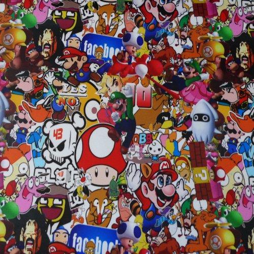 Free Tool Kit MAO JDM Bomber Anime Graffiti Cartoon Car Auto Laptop Vinyl Wrap Sticker Decal Film Sheet - 60''X600'' by JDMBESTBOY (Image #6)