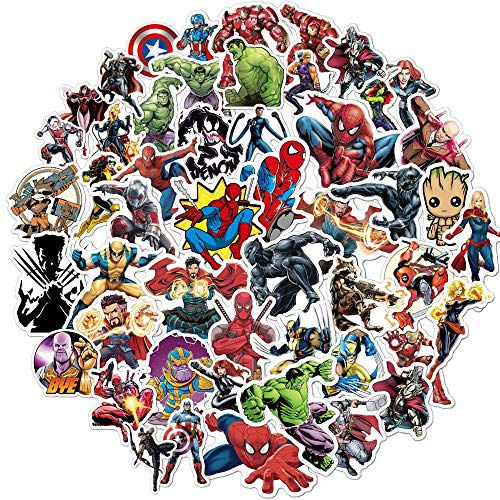 Superhero Avengers Stickers for