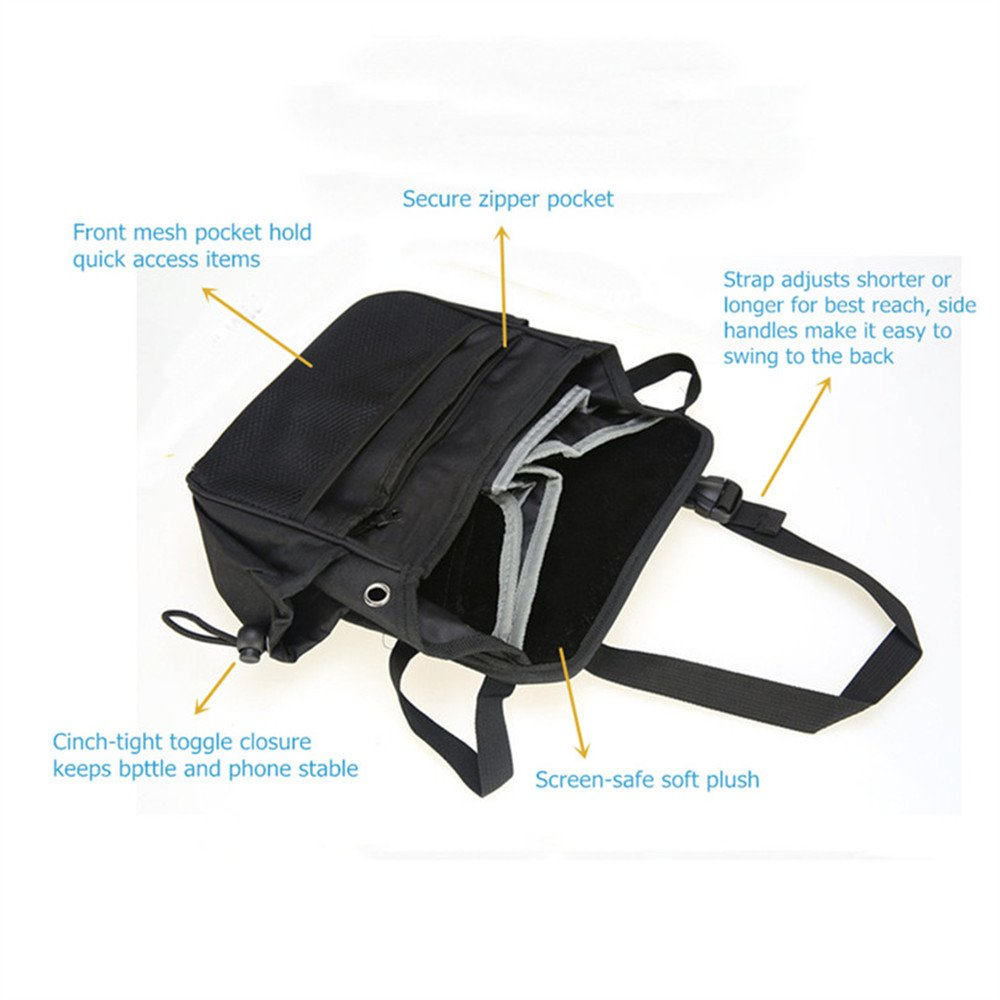 Practical Portable Car Companion With Multiple Compartments JAUTO NEW ARRVIAL Front Seat Car Organizer Keeps Car Necessities Organized and Within Easy Reach 5559021138