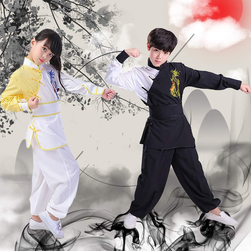 Jonact Kung Fu Kleidung Jungen Kampfsport Kinder Performance Bekleidung Shaolin Kung Fu Kleider Chinoiserie