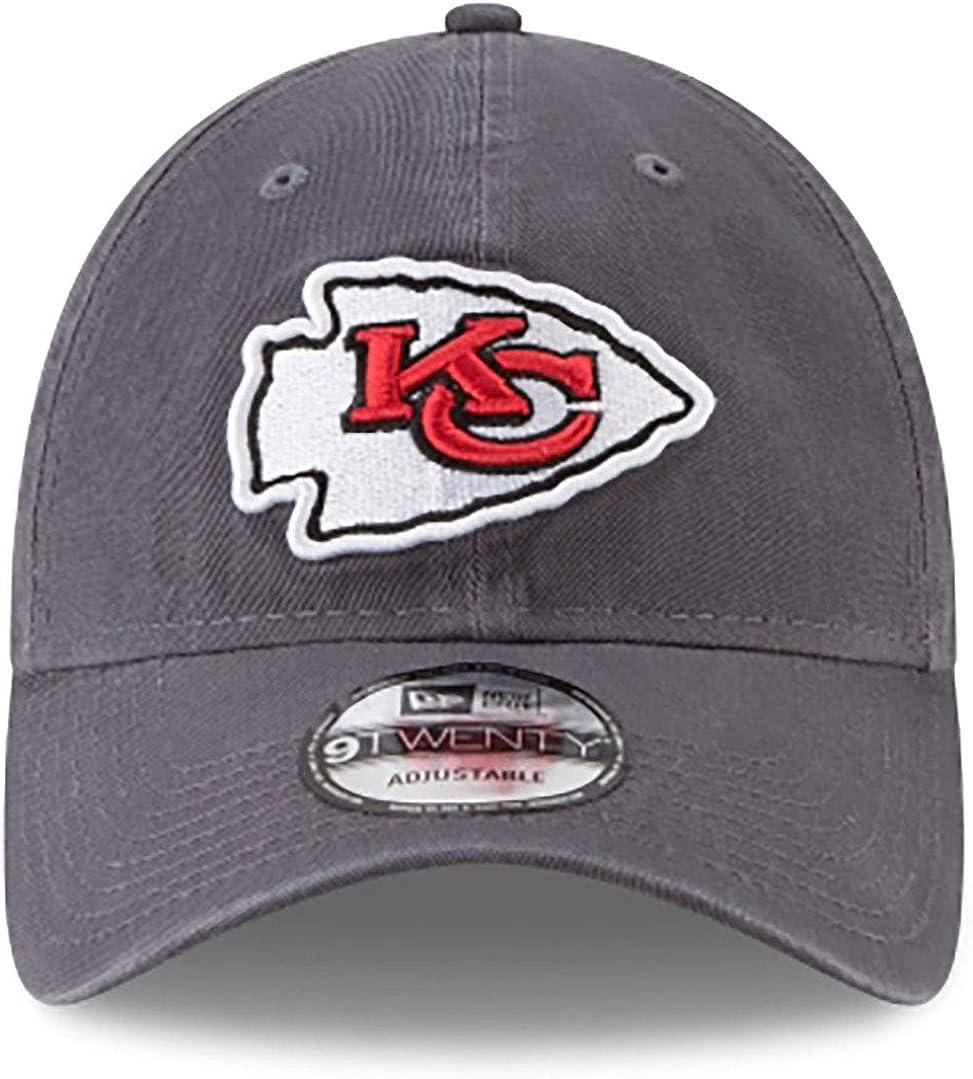 New Era Kansas City Chiefs NFL 9Twenty Core Classic Graphite Adjustable Hat