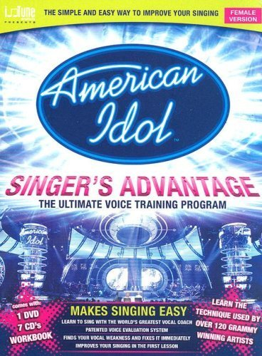 American Idol Singer's Advantage - Female Version (DVD Entertainment Package) by Seth Riggs - American Idol Rocks