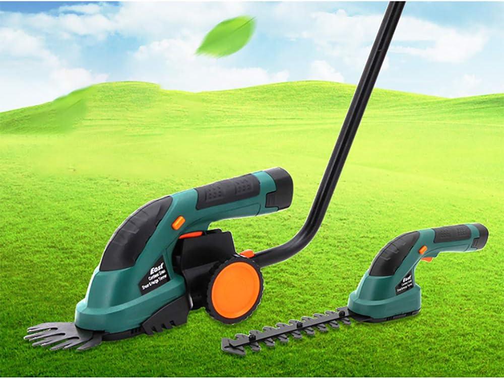 LOKS Hogar Multifuncional eléctrico pequeño Cortasetos, Portátil deshierbe Jardín Greening Cortasetos, Capacidad de la batería 1.3Ah, 7.2V