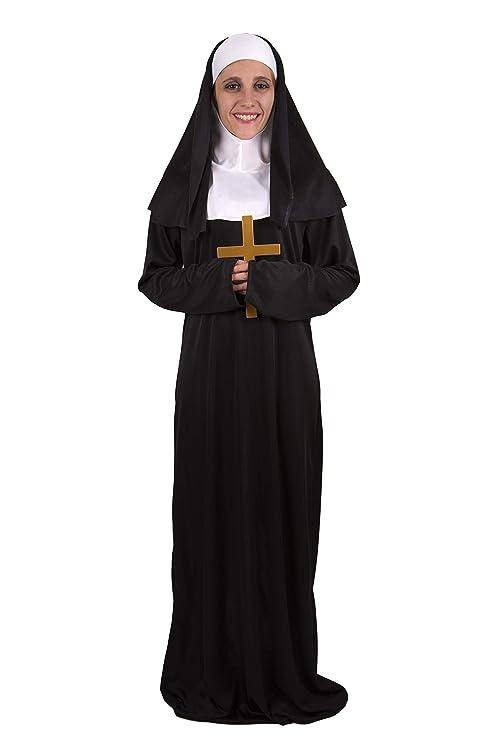 Costumizate! Disfraz de Monja Adulta Especial para Fiestas de ...