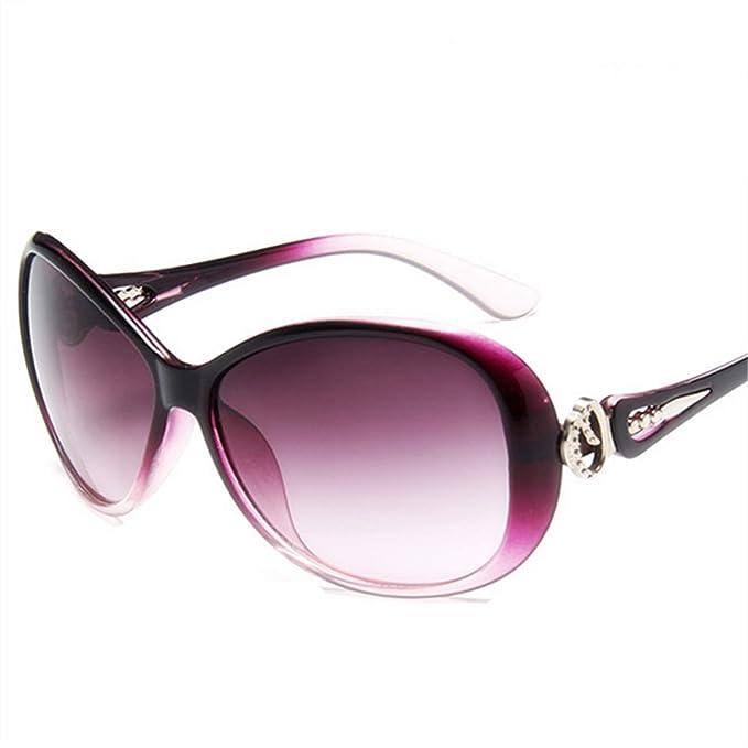 Amazon.com: Gafas de sol para mujer 2018, estilo visera de ...