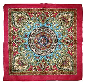 "Wholesale Lot 3 22 ""x22"" Ornate Paisley Bandana mosaico Multi Color Rosa Frontera"