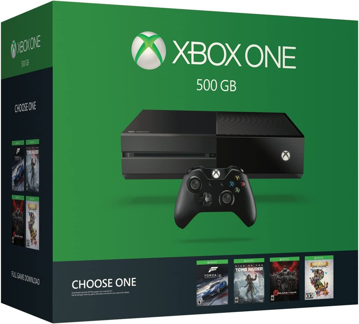 amazon com xbox one 500gb console name your game bundle video