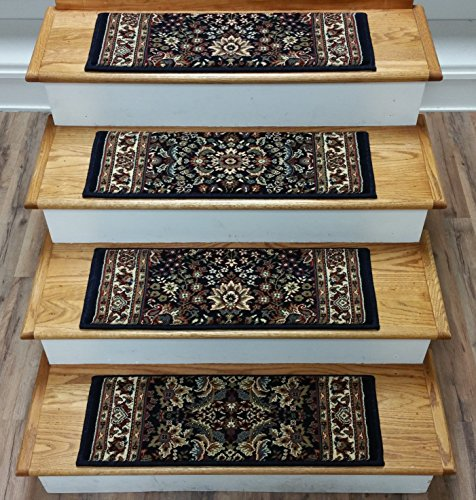 143740 - Rug Depot Stair Tread Sets for Pets - Set of 13 Stair Treads 26