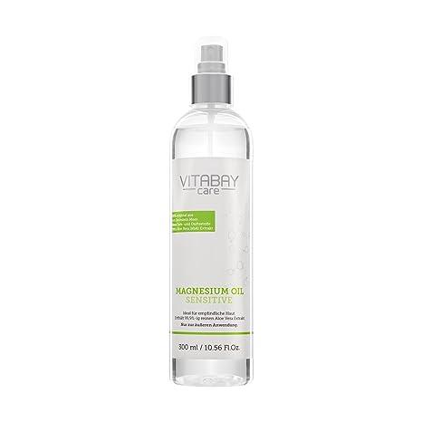 Original ZECH piedra magnesio aceite Sensitive – Cloruro de magnesio Spray con 99,9%