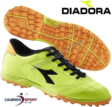 Diadora 172397 C4102 - Botas de fútbol 6PLAY TF Turf, amarillo, 42: Amazon.es: Deportes y aire libre
