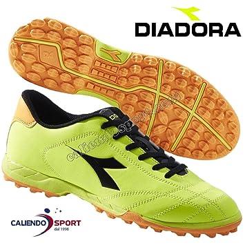 Diadora Scarpe Calcetto 172397 C4102 Calcio 6PLAY TF Turf Football