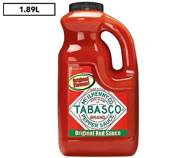 Tabasco Salsa de Pimiento Rojo 1.89 l