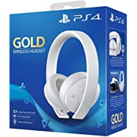 Casque sans fil Or/Blanc Sony PS4