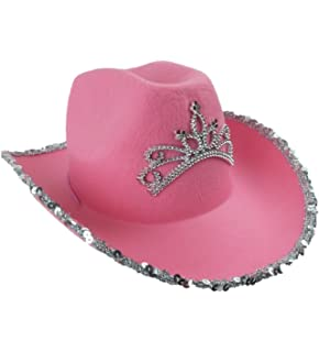 8944e3a62b1 Cowboy Hat for Women - Cowgirl Hat - Cowgirl Costume Hat - by Funny Party  Hats