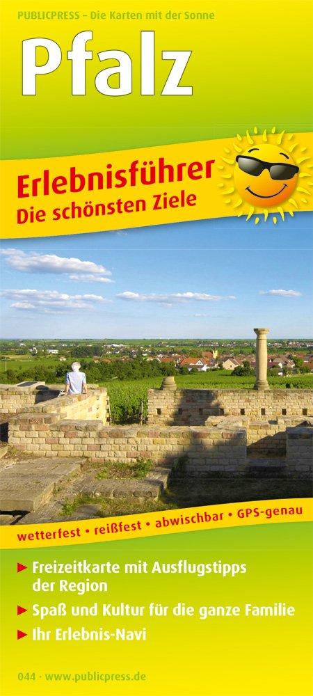 Pfalz: Erlebnisführer mit Informationen zu Freizeiteinrichtungen auf der Kartenrückseite, wetterfest, reißfest, abwischbar, GPS-genau. 1:160000 (Erlebnisführer / EF)