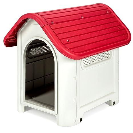 X D P C Verano Super Grande Perro Pelo Dorado al Aire Libre Extraíble y Lavable Lluvia plástico caseta