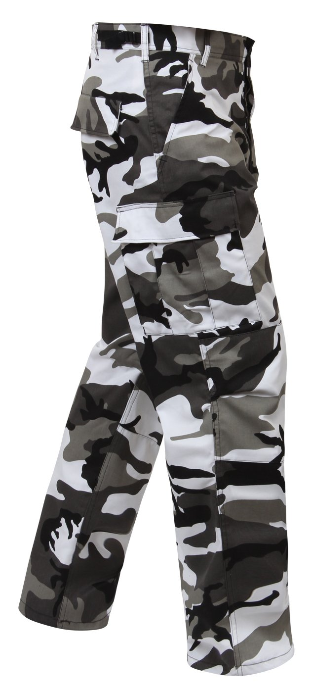 Rothco Color Camo Tactical BDU Pants, City Camo, S