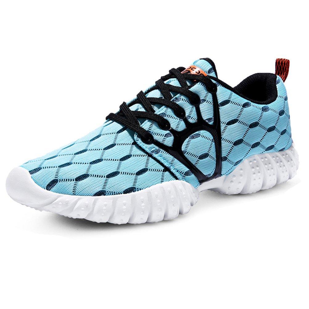 Men's Mesh Cross-traning Running Shoes Walking Sneakers B074DYXL9M 9 D(M) US|Light Blue