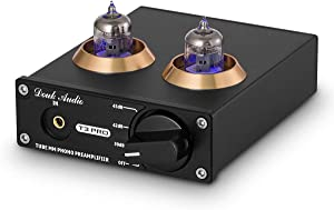 Douk Audio T3 PRO MM Phono Stage Preamp Mini Stereo Vacuum Tube Preamplifier