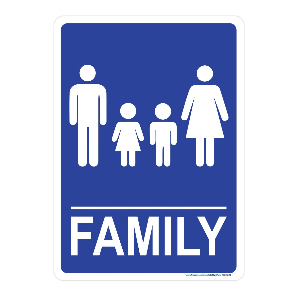 Miraculous Family Bathroom Sign Includes Holes 3M Quality Reflective Download Free Architecture Designs Xaembritishbridgeorg