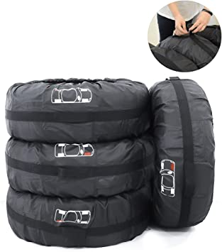 Waterproof Spare Tire Cover Canadian Armed Forces Wheel Covers Universal Tires Protectors for Trailer RV SUV Truck Wheel