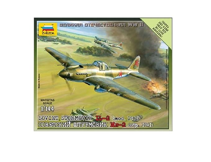 Zvezda - Z6125 - Maquette - Illiouchine Il-2 Stormovik - Echelle 1:144