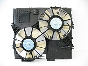 Tong Yang FAN-CD66005A Replacement Radiator/Condenser Cooling Fan Assembly 08'- CD CTS/SRX 04-08/STS 05-09 3.6/4.6L w/o towing(FAN-CD66005A)