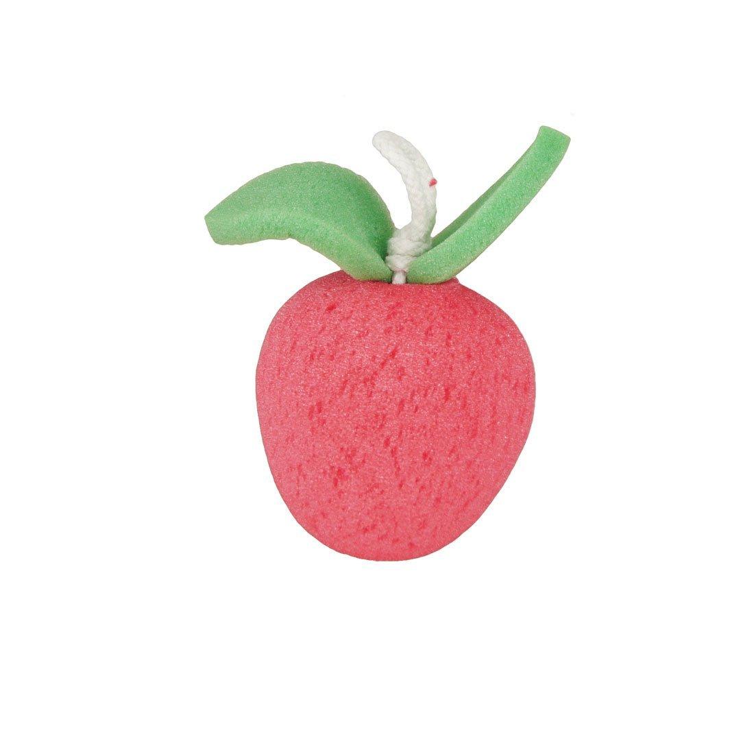 Apfel Obst Accent Körpermassage Wash Reinigung Dusche Schwamm Grün Rot DealMux