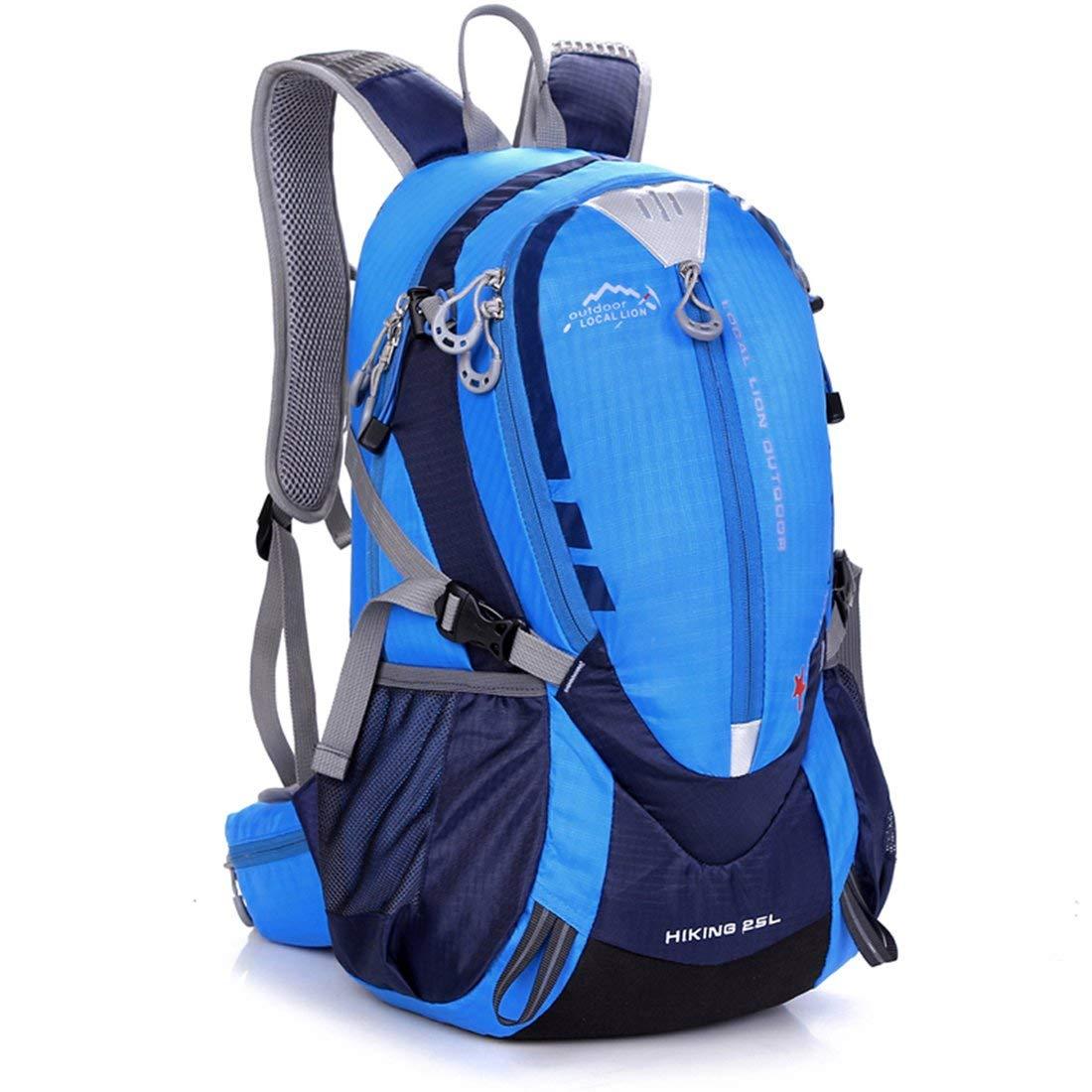 Formulaone 25L Outdoor Mountaineering Backpack Hiking Camping Nylon Impermeable Ergonomic Design Bolsas de Hombro con Cinturón cinturón Cintura cinturón