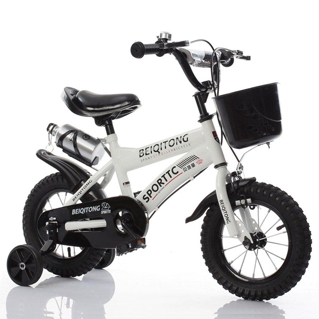 ベビー自転車、男の子自転車の少女自転車の自転車自転車の自転車の自転車の自転車ホイールDiameter30-42CM (色 : 白, サイズ さいず : 88CM) B07D2F583P 88CM 白 白 88CM