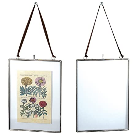 dotcomgiftshop Hanging Glass Picture Photo Frame - Choice Of Size ...