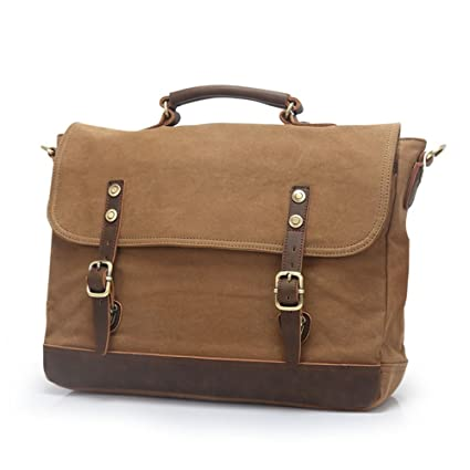 d1083f0360 Image Unavailable. Image not available for. Color  AJZGF Business Briefcase  European Style Briefcase Shoulder Messenger Bag Messenger Bag School Bag  Men s ...