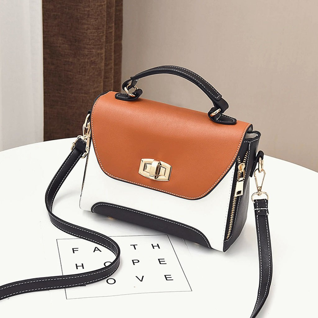 Summer Bags Messenger Bag Mini Portable Simple Shoulder Bag (Color : Khaki, Size : M)