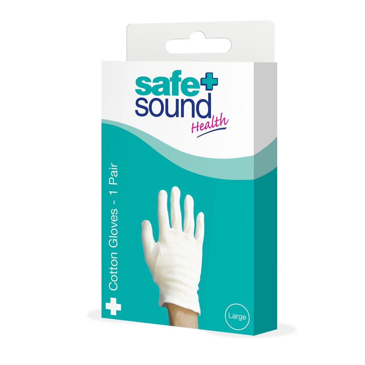 Safe & Sound Large Cotton Gloves MURRAYS SA8927