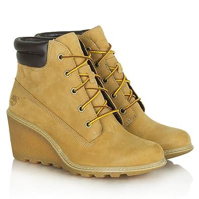 Timberland Damen Stiefel / Stiefeletten Schnürstiefel yellow yellow