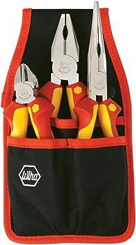 Wiha 32873 con aislamiento alicates cinturón Pack Kit, 3 piezas por Wiha: Amazon.es: Bricolaje y herramientas