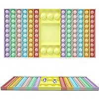 ICRPSTU Brinquedos Pop de tamanho grande, brinquedos sensoriais, brinquedos de empurrar sensoriais, brinquedo especial…