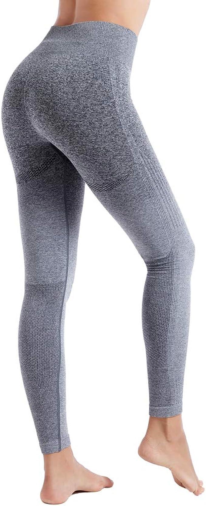 Amazon.com: Aoxjox - Pantalones de yoga para mujer de talle ...