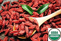 1LB (16 oz) GROWN ORGANICLLY GOJI BERRIES WOLFBERRY BERRY GRADE AAA++ FROM NINGXIA, HAND SELECTED