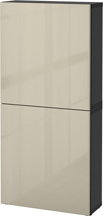 Zigzag Trading Ltd IKEA BESTA - Armario de Pared con 2 ...