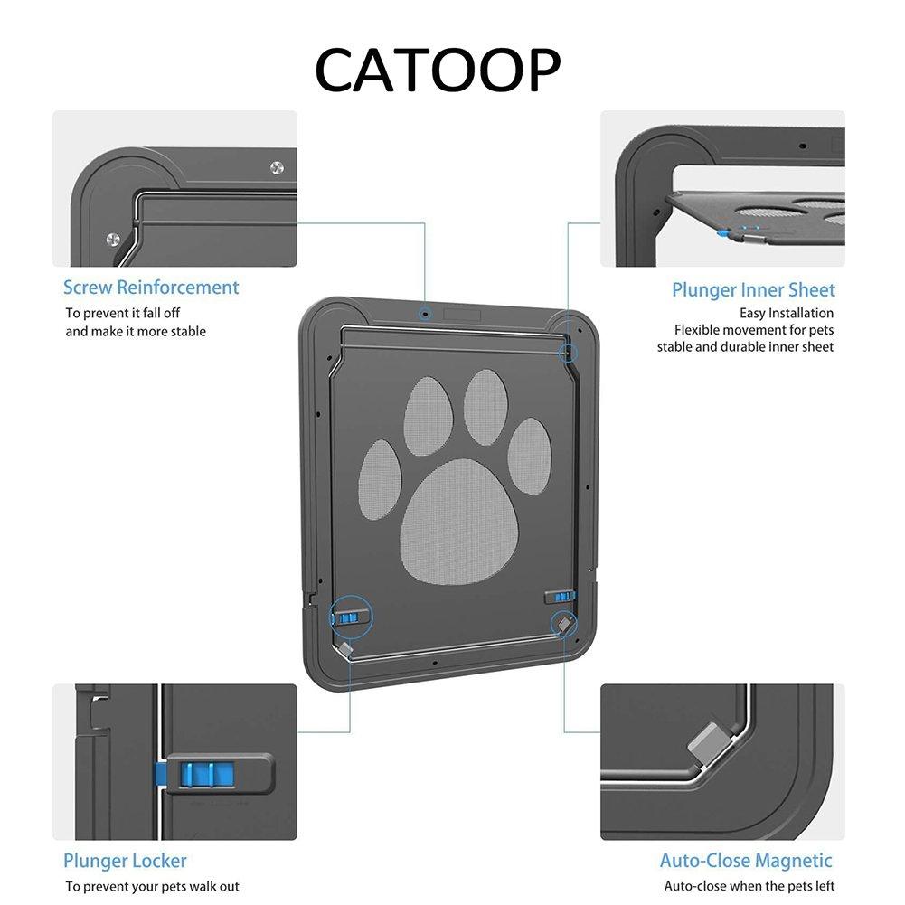 Dog Screen Door Pet Cat Screen Door Protector For Sliding Door