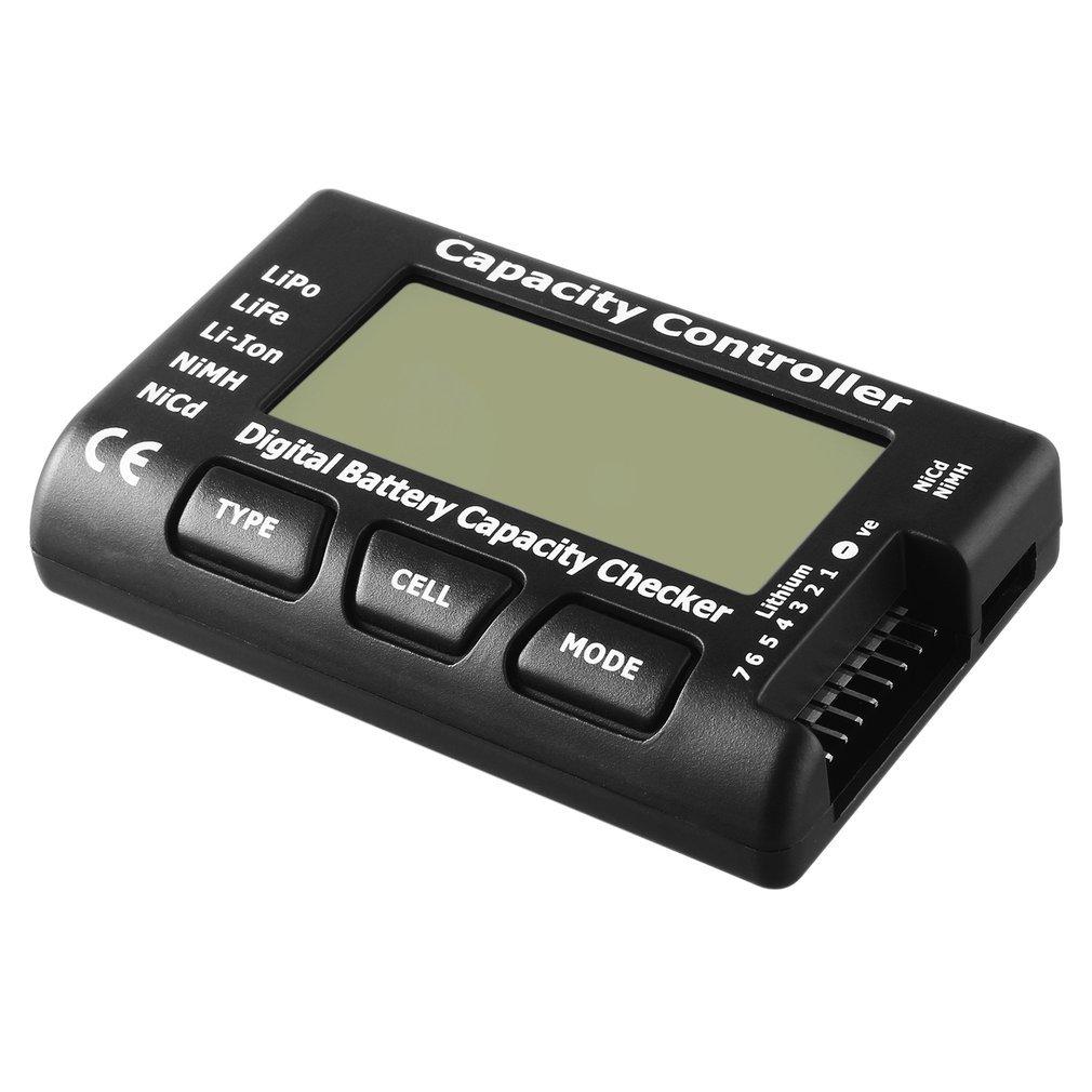 RC CellMeter-7 Digital Battery Capacity Checker For LiPo LiFe Li-ion Nicd NiMH FairytaleMM