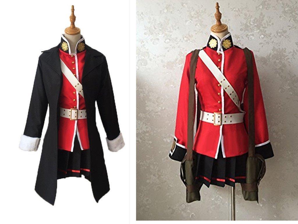 Fate/Grand Order フェイトグランドオーダーFGO ナイチンゲール靴下付 コスプレ衣装 +ウイッグ+靴+髪飾り+鞄*3+エポレット付 B07BJKZJHP