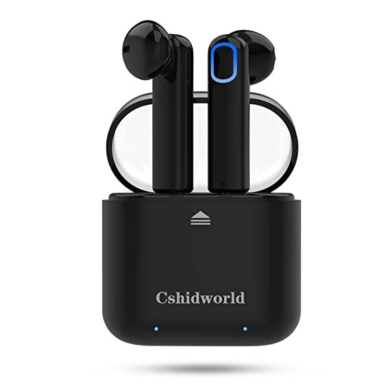 ed528484cb2 Wireless Earbuds,Cshidworld Bluetooth Headphones Mini in-Ear Headsets  Sports Earphone with Noise Cancelling
