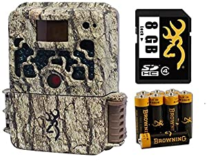 (2) Browning BTC5 Strike Force HD 10MP Game Camera + 8GB SD Card + AA Batteries from Browning Trail Cameras