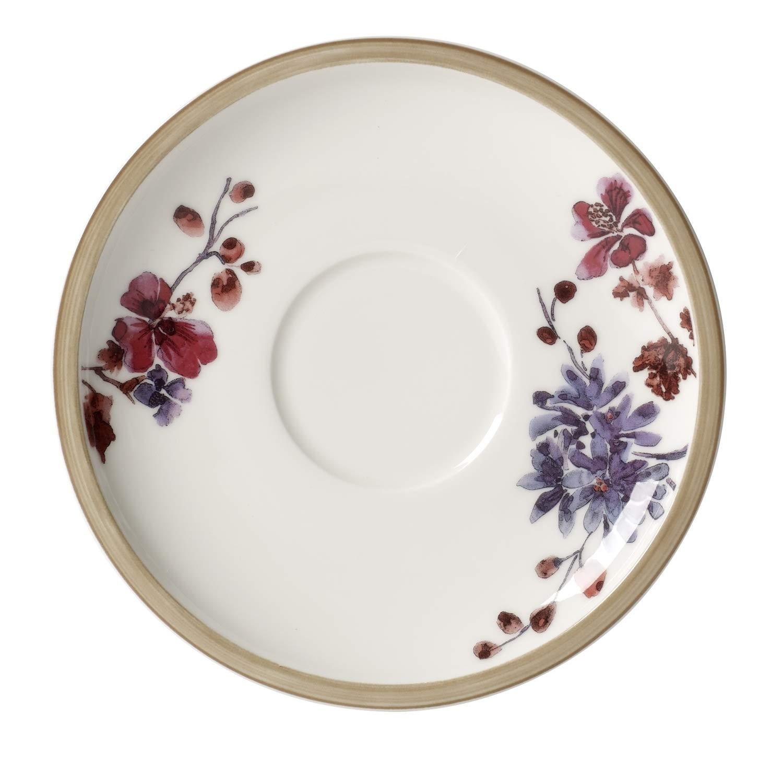 Villeroy /& Boch Artesano Original Soucoupe pour tasse /à caf/é au lait Blanc 17 cm Porcelaine Premium