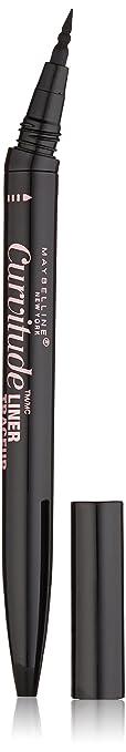 f967525c558 Maybelline Curvitude Liner, Black, 0.027 oz. : Beauty - Amazon.com