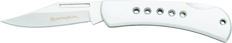 Bear Son Cutlery R18043 Stainless Steel Gentleman s Lockback Knife with Designer Holes in Handle, 2 3 4-Inch
