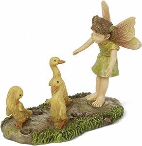 Woodland Knoll Miniature Fairy Garden Wayward Ducks Mg284