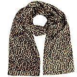 Leopard Plush Velvet Scarf